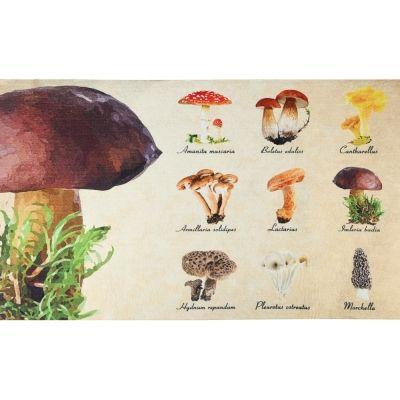 Fußmatte Pilze