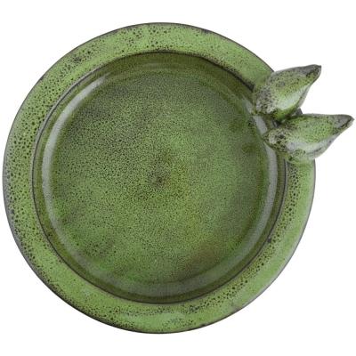 Keramik-Vogeltränke Vogelpaar, rund