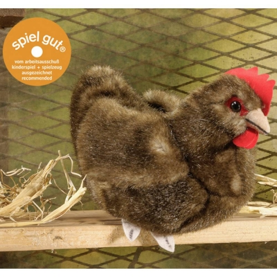 Huhn in verschiedenen Farben -Kösener Plüschtier-