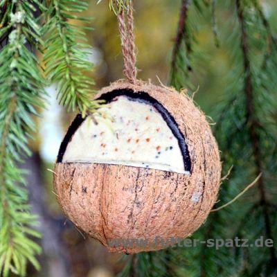 gefüllte Kokosnuss, Coco Feeder, 1 Stück