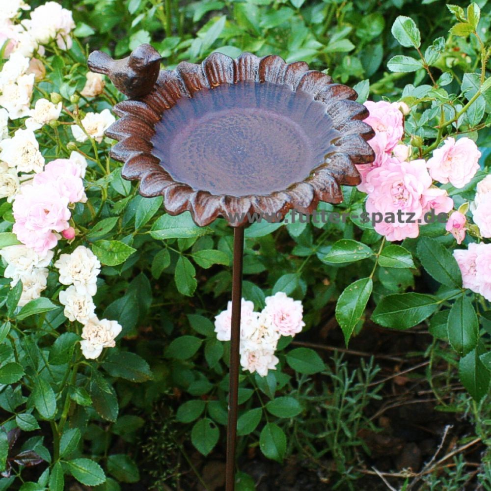 Mini-Vogeltränke Blume WH710 - Der Futter-Spatz