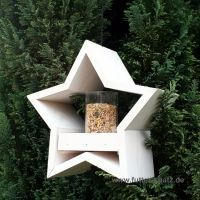 Futterhaus Stern, weiß