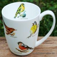 Tasse Vogelchor aus hochwertigem Porzellan