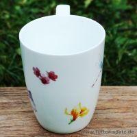 Tasse Sommerfalter aus hochwertigem Porzellan