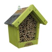 Bienenhaus grün mit Zinkdach